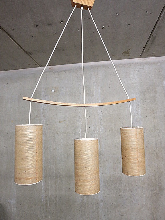 Scandinavische Hanglamp Vintage Three Drop Pendant Lamp