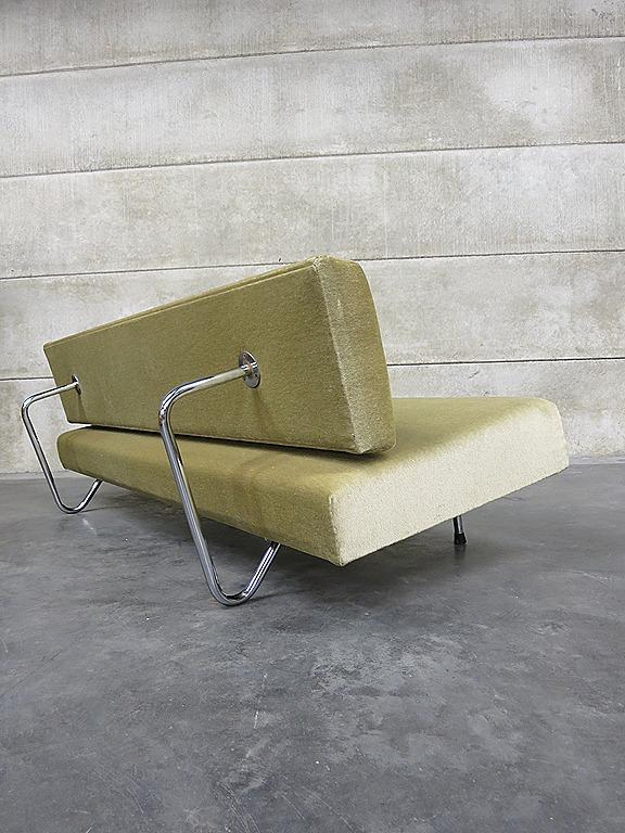 Vintage Design Slaapbank Bank Sofa Mad Men Style