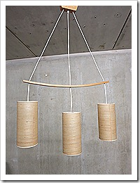Scandinavische Kelk Hanglamp Vintage Three Drop Danish