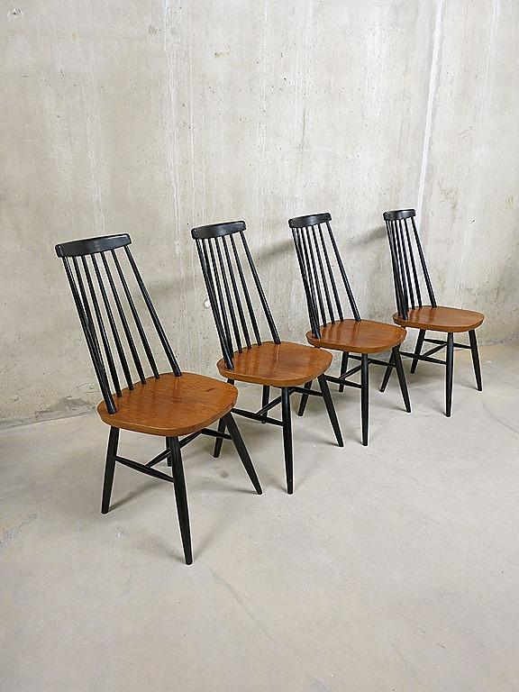 Spijlen stoelen Pastoe    Tapiovaara stijl   Bestwelhip