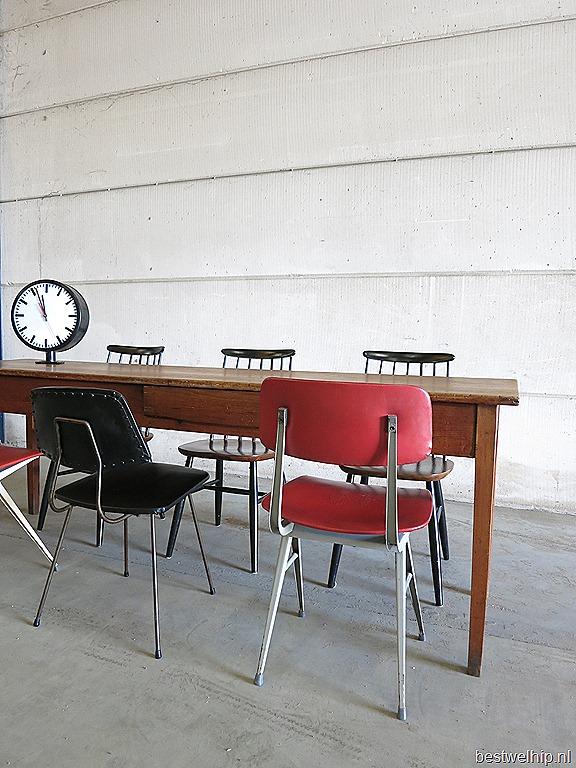 Stoere vintage eetkamer tafel   Bestwelhip