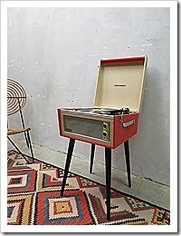 Crosley Bermuda vinyl platenspeler retro vintage