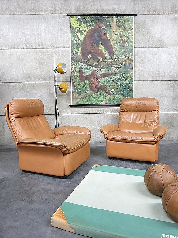 De sede vintage design leren lounge chairs armchairs bestwelhip - De meest comfortabele fauteuils ...