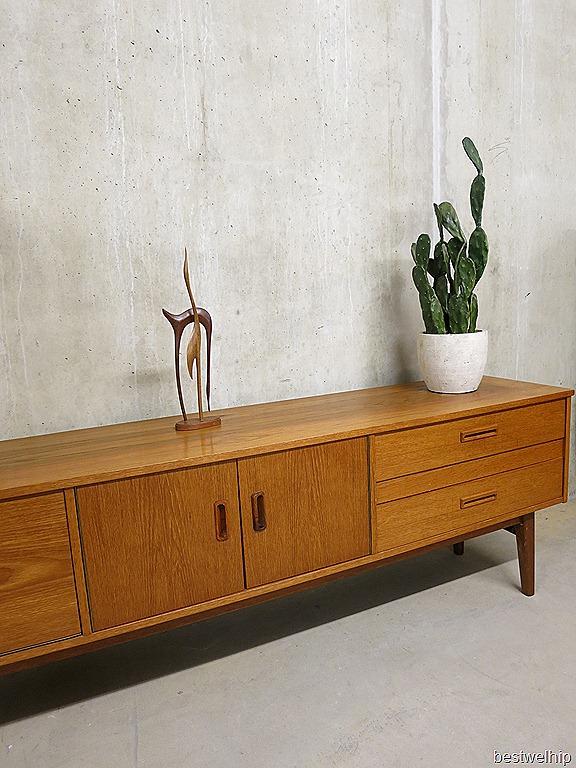 Low Board Dressoir Mid Century Vintage Design Bestwelhip