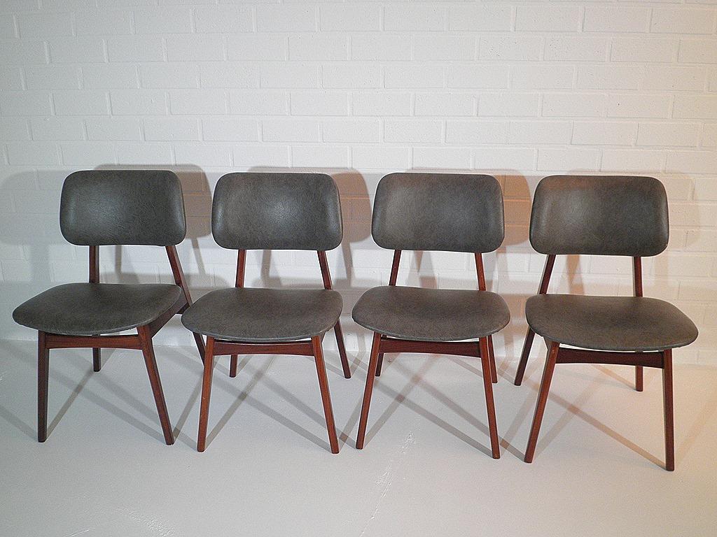 Vintage design eetkamerstoelen Deense stijl | Bestwelhip