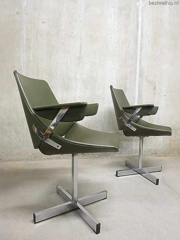 Industrial vintage design eetkamerstoelen dining chairs office ...