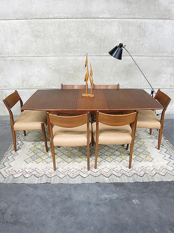 Cees Braakman Dining Chairs For Pastoe Eetkamer Tafel En