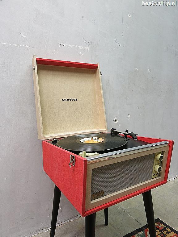 crosley bermuda vinyl platenspeler retro vintage bestwelhip. Black Bedroom Furniture Sets. Home Design Ideas