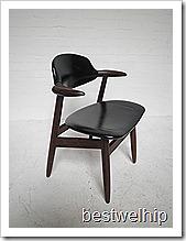 koehoorn stoel/ cowhorn chair vintage design