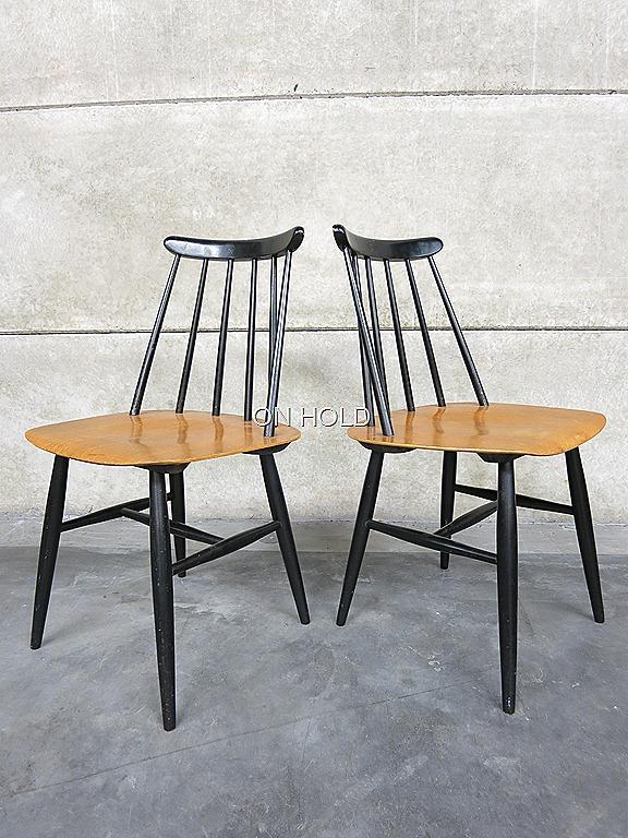 Tapiovaara fanett dinner chairs tapiovaara vintage for Eetkamerstoelen scandinavisch