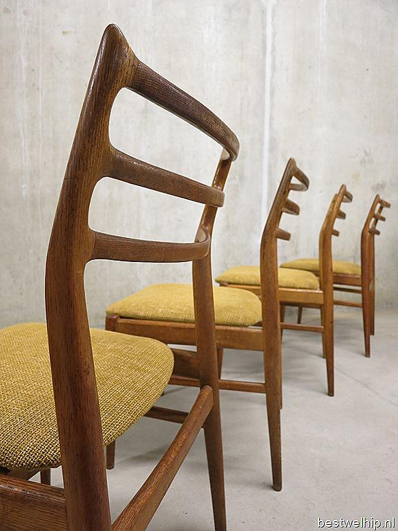 Ongebruikt Deense vintage eetkamerstoelen, dining chairs Danish design j VR-26
