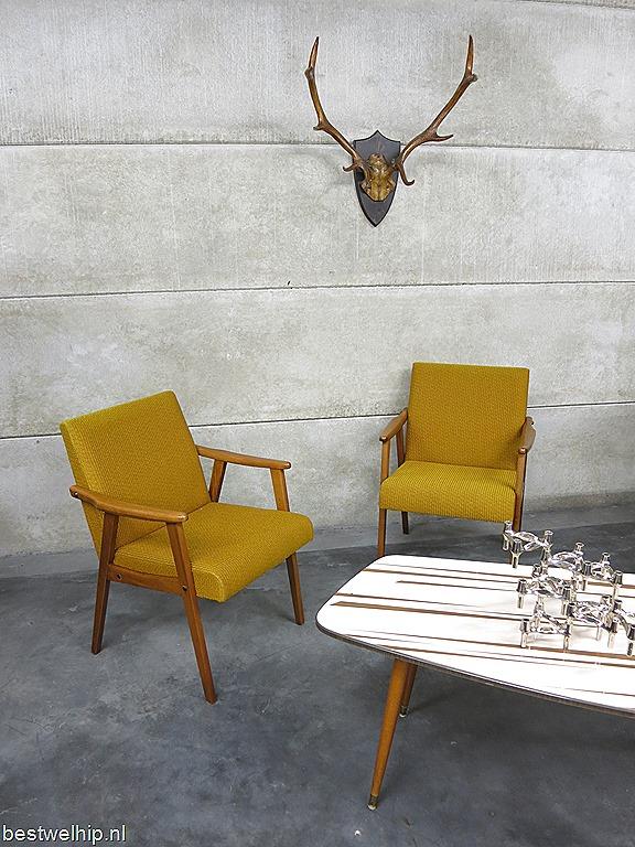 Vintage lounge stoelen scandinavische stijl vintage armchairs mid century design bestwelhip - Moderne lounge stijl ...