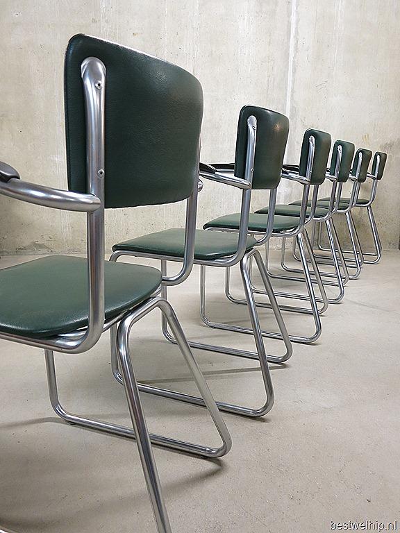 Buisframe Stoelen Vintage.Ahrend Buisframe Stoelen Chairs Industrial Vintage Design Bestwelhip