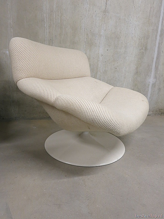 Vintage design lounge stoel swivel chair Artifort Geoffrey Harcourt