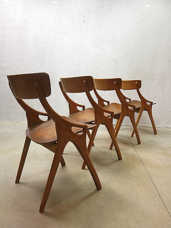 Hovmand Olsen Vintage Eetkamer Stoelen Deens Design Danish 2jgqp