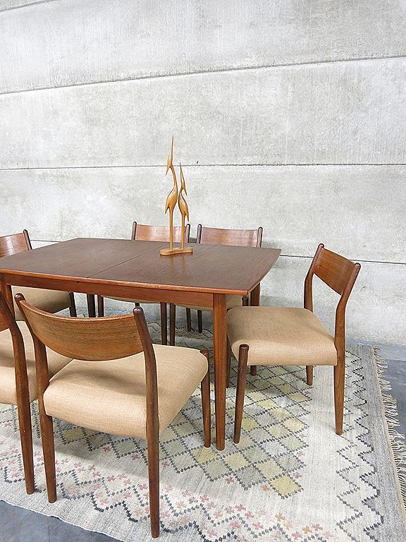 Cees Braakman dining chairs for Pastoe, eetkamer tafel en stoelen Cees ...