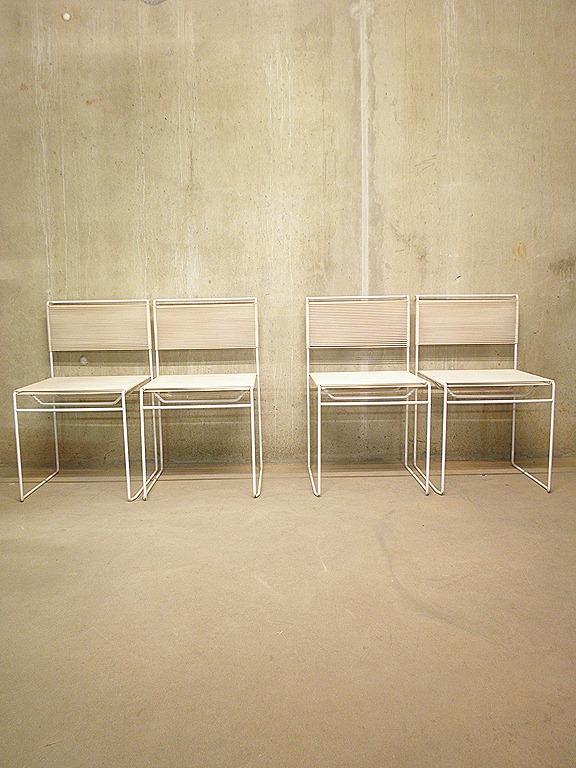 Vintage Stoelen Dining Chairs G Belotti Bestwelhip