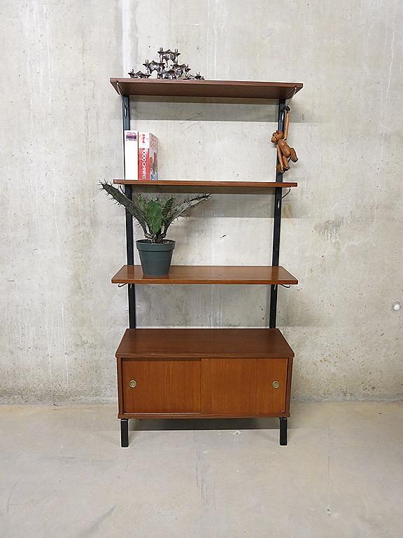 Super Vintage wandkast wandsysteem, industrial cabinet wall unit ZQ-26