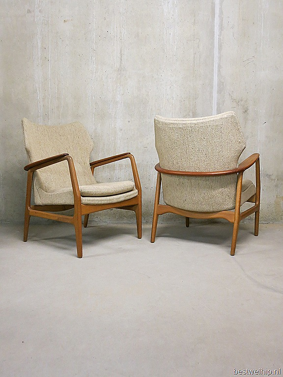 Design Bovenkamp Lounge Chair Stoel Scandinavische Stijl Dutch picture