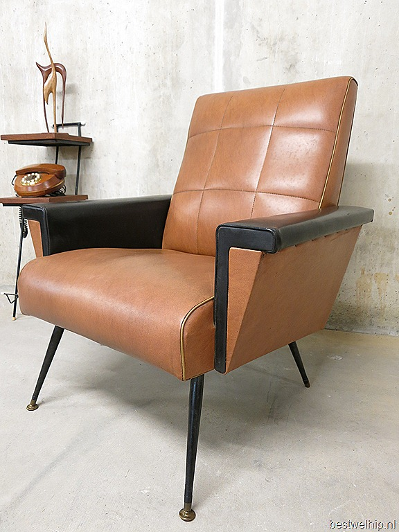 Fifties lounge chairs rock a billy bestwelhip - Stoel leer rock bobois ...