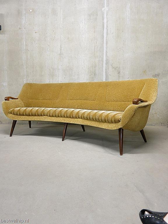 Design Vintage Bank.Vintage Lounge Bank Sofa Mid Century Design Bestwelhip
