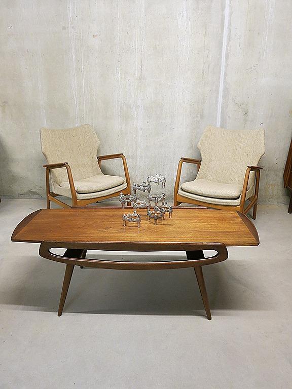 Deense Vintage Salontafel.Deense Salontafel Vintage Mid Century Design Bestwelhip