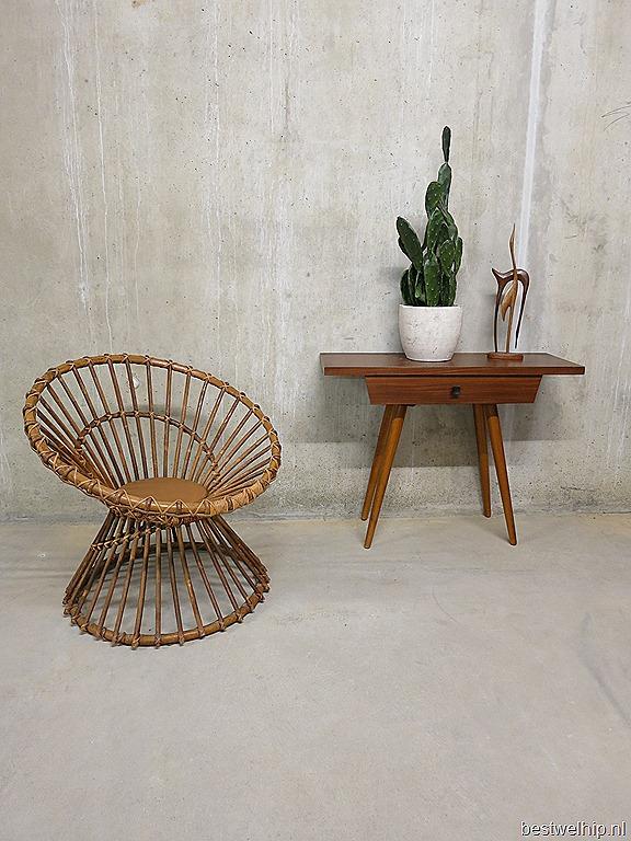Rohe rotan vintage design fauteuil chair web bestwelhip for Bauhaus stoel vintage