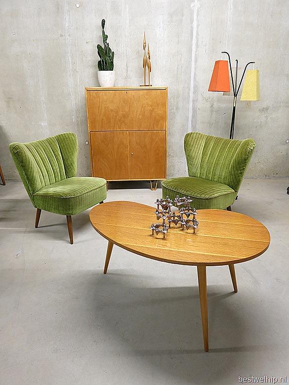 Nature coctail chairs clubfauteuils bestwelhip for Jaren 50 60 meubels