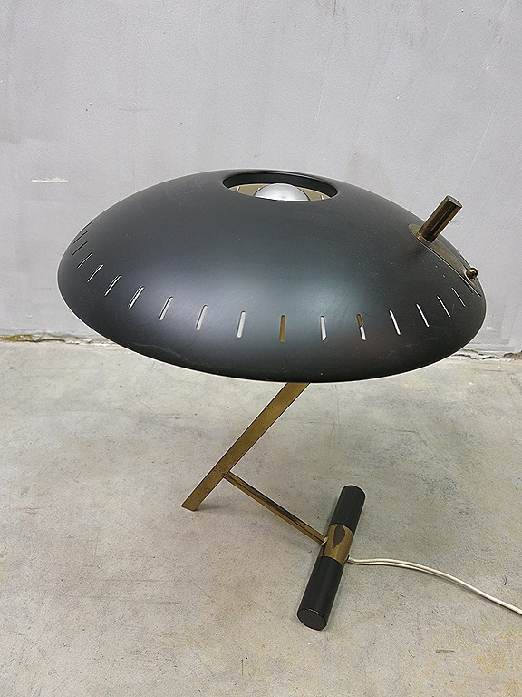 Mid Century Vintage Design Desk Lamp Louis Kalff Voor