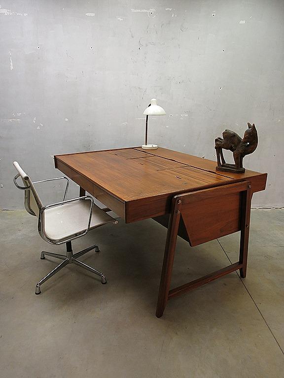 Mid Century Vintage Design Eden Desk Bureau Clausen