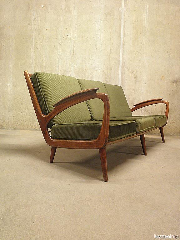 Vintage design bank sofa deense stijl bestwelhip for Deense meubels vintage