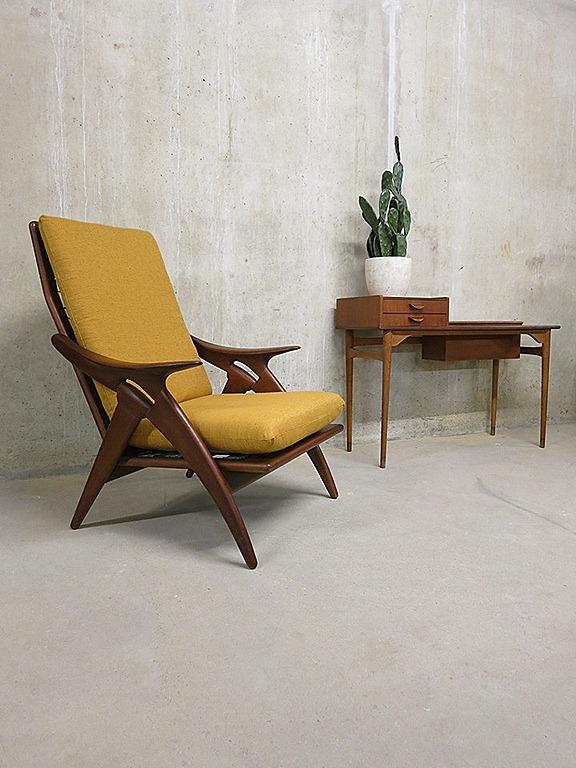 De Ster Gelderland Fauteuil Vintage Mid Century Design