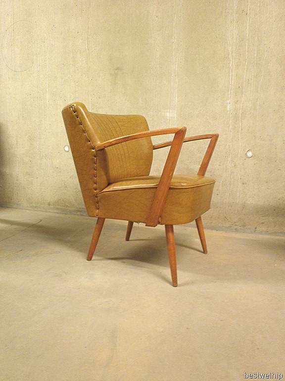 vintage clubfauteuil cocktail armchair fifties bestwelhip. Black Bedroom Furniture Sets. Home Design Ideas