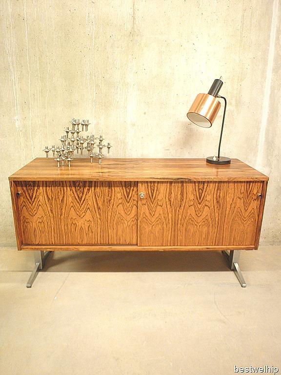 vintage design dressoir wandkast Deens, Sidboard Danish mid century ...