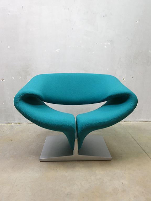 Ribbon Chair Pierre Paulin Artifort Vintage Mid Century Design