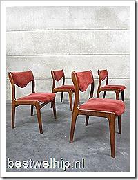 Danish Vintage Dinner Chairs Vintage Design