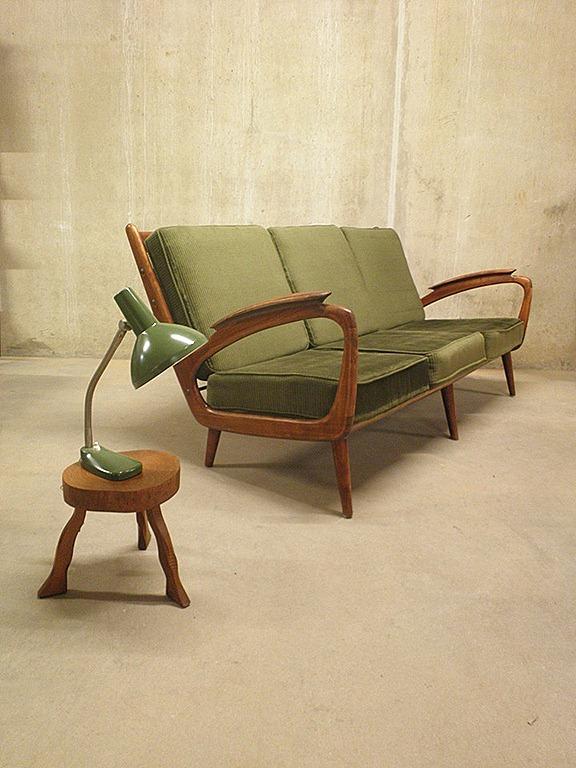 Vintage design bank sofa deense stijl bestwelhip - Vintage bank thuis van de wereld ...