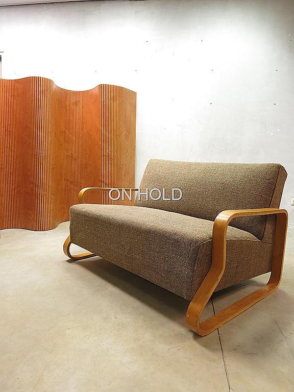 alvar aalto bank sofa model 544 arm chair fauteuil. Black Bedroom Furniture Sets. Home Design Ideas