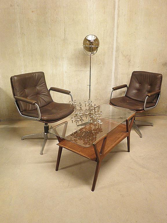 Artifort Geoffrey Harcourt Bureaustoel.Artifort Vintage Easy Chair Geoffrey Harcourt Bestwelhip