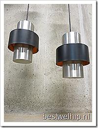 Vintage Industrial metal bar pendant lamps , vintage hanglamp industrieel Hala