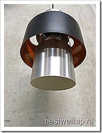 Vintage Industrial metal bar pendant lamps , vintage koker hanglamp Hala