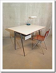 Vintage design desk friso kramer stijl bestwelhip for Zwevend ladenblok