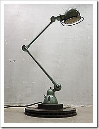 Original Jielde industrial vintage design desk lamp France, Jielde lamp industrieel vintage loft