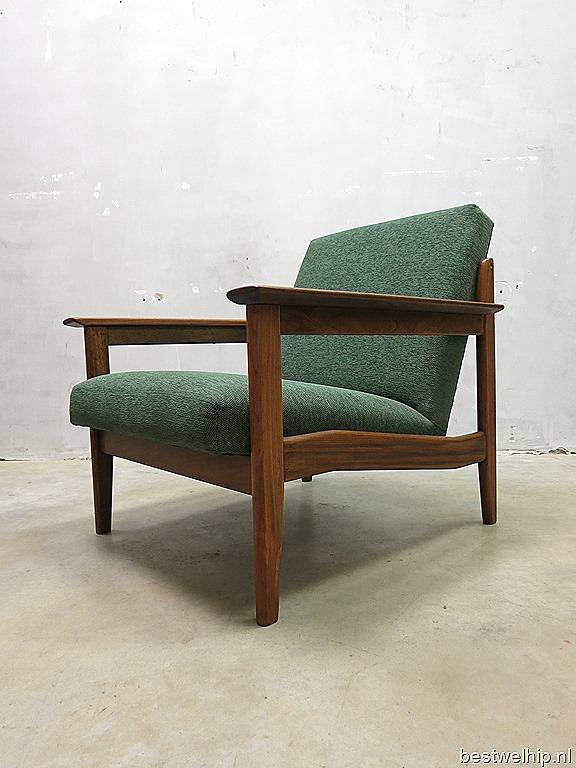 Mid century danish lounge chair fauteuil armchair vintage bestwelhip - Zeer comfortabele fauteuil ...