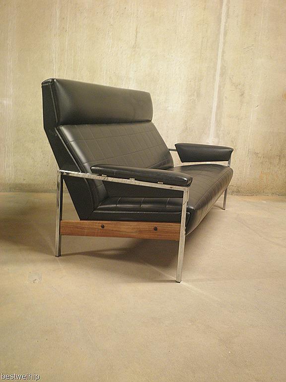 Leren Gelderland Bank.Vintage Lounge Set Rob Parry Gelderland Bestwelhip