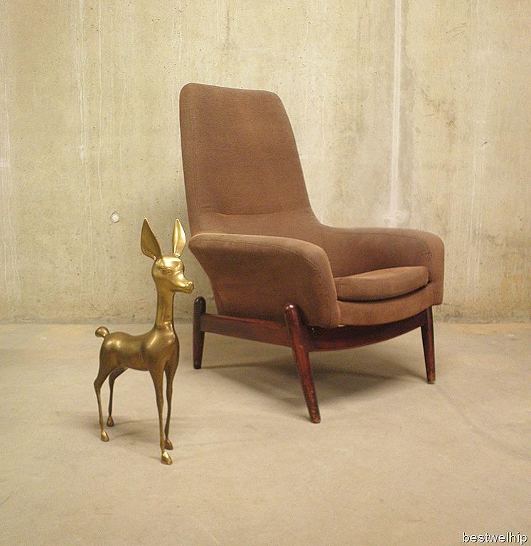 Vintage design fauteuil bovenkamp bestwelhip - Zeer comfortabele fauteuil ...