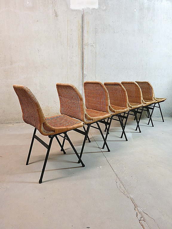 Dutch Design Eetkamerstoelen.Vintage Design Eetkamerstoelen Rohe Noordwolde Dutch Design