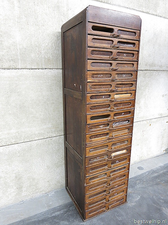 Ladenkast Industrieel Loft Mid Century Design Cabinet