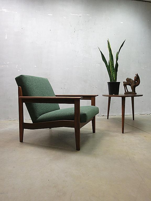 Mid Century Danish Lounge Chair Fauteuil Armchair Vintage