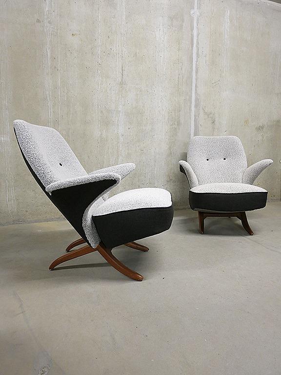 Vintage design pinguin chair artifort bestwelhip - Comfortabele lounge stoel ...